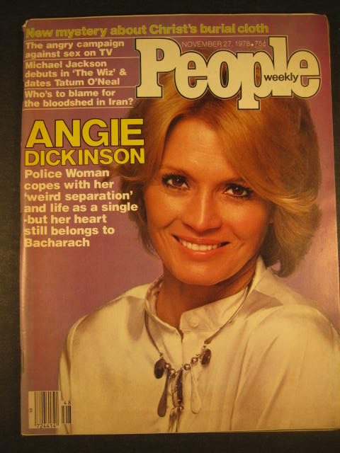 People Weekly November 27 1978 Angie Dickinson, Michael Jackson VG 012816DBE