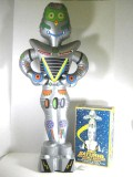 MIB AMICO SATURNE Inflatable Battery Operated Robot
