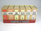 Vintage 1939 COMPLETE Russell LIBRARY OF GAMES 6 pc